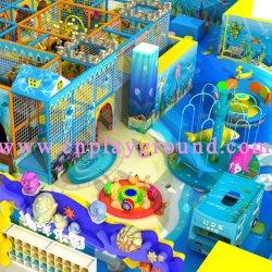 En el interior multifunción equipos de juego suave de los niños Playground (HD-16SH01).