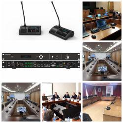 Soluzione audiovisiva del microfono di comunicazione
