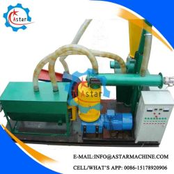 Small Investment 200-500kg/H flache Pellet-Herstellung Linie zum Verkauf