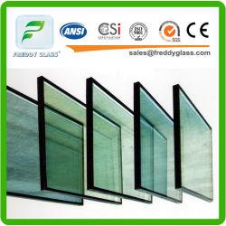 La construcción de huecos de vidrio templado de doble cristal aislante Low-E