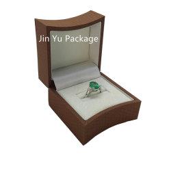 Quente populares vender jóias de madeira de luxo de Embalagem para Anel O