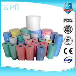 특수 부직포 경제적인 OEM 멀티폴러인 목재 펄프 소독 피부과 검사를 거친 부드러운 제품 pH 밸런스 세정 와이프