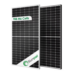 Os preços dos painéis solares Sunpal Mono constituídos Painel de Energia Energia Solar PV Module 425W 430W 435W 440W 445W 450W 460W 470W 480W 500W