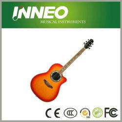 """41"""" de guitarra acústica com o corte de Distância (YN-R038-41C)"""