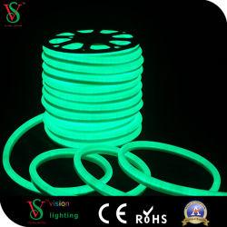 Licht van het Teken van de dubbele LEIDENE van het Gezicht Kabel van het Neon Flex