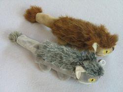De Muis van de Levering van het Huisdier van het Stuk speelgoed van de Hond van de pluche met de Ogen van het Borduurwerk