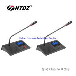 Multifonction numérique système de conférence Audio & Vidéo Microphone de bureau (HT-7600B série)