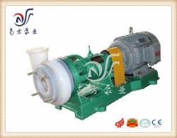 Fsb 50 Fluoroplastic einstufige einzelne Absaugung-korrosionsbeständige horizontale Chemikalie und industrielle zentrifugale saure Pumpe