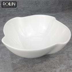 Fábrica de Chaozhou aperitivo el Tazón de cerámica blanca a la venta