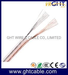 Красный и черный прозрачный гибкий кабель динамика (2X1.0mmsq ОАС Проводник)