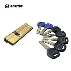 مقبض باب المدخل الأساسي لقفل الجزء المركزي بأسطوانة قفل أمان مقاس 65-110 مم أسطوانة القفل