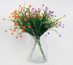 Мини-пластмассовую ручку шелковые Цветы искусственные завод