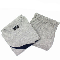 Vêtements de nuit pyjamas de compagnies aériennes s'adapter à l'usure de couchage pour les hommes
