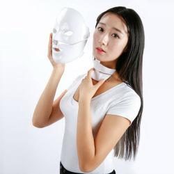 Maschera di protezione di ringiovanimento della pelle del fotone di PDT & di rimozione LED della grinza per cura domestica