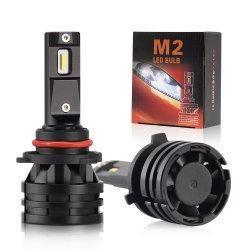 Sistema de Iluminación Automotriz 8000lm 9005 9006 9012 H11 M2 H4 Bombillas de Faros LED para Automóviles
