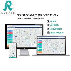 Cuerda supervisar la gestión de flota Online Software de seguimiento GPS GSM GPRS