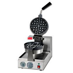 Edelstahl-Imbiss-Nahrungsmittelbiskuit-Kuchen-Zwischenlage-Heart-Shaped Pfannkuchen-elektrischer Waffel-Hersteller