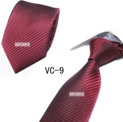 Commerce de gros homme Fashion cravate en soie Corbatas de cou