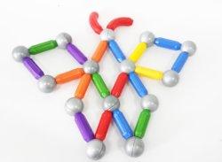 Magisches magnetisches Stock-Spielzeug-magnetische Blöcke der ISO-Bescheinigung-Superqualitäts3d für Kinder