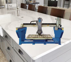 Sierra de Puente Piedra de granito encimera de mármol de corte para XZQQ625A) (