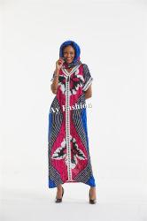 As mulheres mais vendidos roupas com tempo de manga curta Lace vestido muçulmana