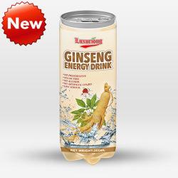 300ml Estanho Pet Ginseng bebida energética