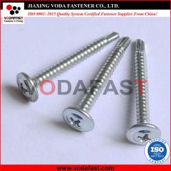 Vodafast oblea grande Collar cabeza redonda con la cabeza de perforación automática el tornillo C1022 con cincado-3