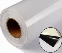 1/3/5 Anos material publicitário de Impressão Digital em Vinil auto-adesiva PVC Rolo com proteção de papel