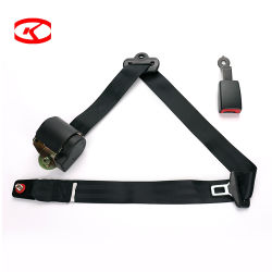Cinturón de seguridad del bus de 3 puntos de buceo en la cintura de automoción del Cinturón de seguridad automáticas de seguridad Kit de accesorios de coche Auto Parts con protección