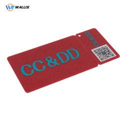 Pet PC PVC perforés de forme spéciale des cartes d'annonce d'affaires