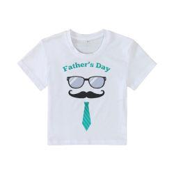 T-shirt van de Kinderen van de Jonge geitjes van de Jongens van het Embleem van de bevordering de Douane Afgedrukte Lege Witte