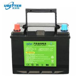 Sin efecto memoria de Almacenamiento de Energía Solar de ciclo profundo 12V 50Ah LiFePO4 Batería de litio batería del coche