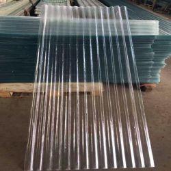 FRP 투명 골판지 플라스틱 지붕판