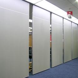 광저우 마운트 움직일 수 있는 미러 방음 접히는 목제 청각적인 움직일 수 있는 벽