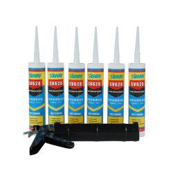 Fast guéri à usage général de l'acide acétique clair acétoxy adhésif silicone adhérent Tube usine 300ml