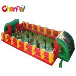Life Size Inflatable Foosball Arena Inflatable Human Foosball Table