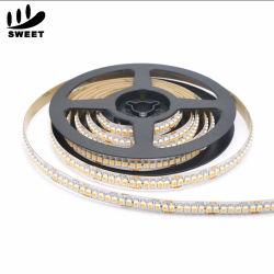 120 светодиодов/M SMD 3528 теплый белый светодиод газа водонепроницаемый