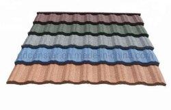 Chiese pierre colorée de matériaux de construction enduits tuile de toit de métal