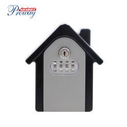 House-Shape Alu-Alloy безопасный замок с ключом с замок