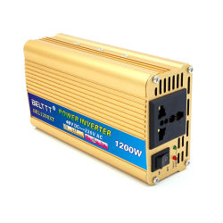 Invertor auto voiture alimentation 12V / 24 V cc à 110V /220V AC pour Home TV