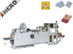 Piccolo sacchetto della carta kraft del Brown dell'alimento della V-Parte inferiore HMD-400/600 che fa macchina