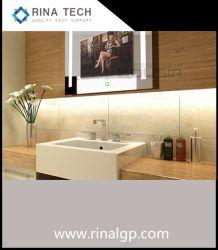 Affissione a cristalli liquidi impermeabile TV di tocco dello schermo dell'hotel della stanza da bagno astuta Android dello specchio LED TV