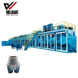 Completo de alta velocidad de la Máquina de pañales para adultos de servo en China