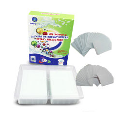 Topone de haute qualité de la marque de produit de nettoyage Fiche de blanchisserie chimiques à usage domestique