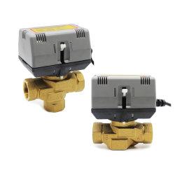 12 В~220V электрический латунные под действием электропривода зоны контроля запорный клапан 3 электромагнитный клапан воды