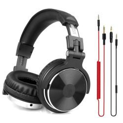 Über Ohr-Kopfhörer-Hifistudio DJ-Kopfhörer verdrahteter Monitor-Musik-Spiel-Kopfhörer-Kopfhörer für Telefon-Computer PC mit Mic