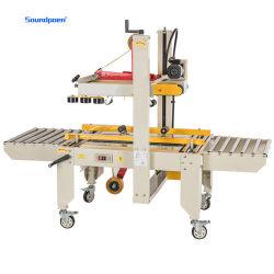 L'approbation volet aléatoire entièrement automatique de pliage et de courroies latérales Grade Carton Machine d'étanchéité