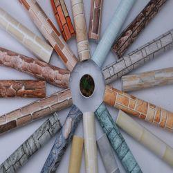 3D 벽돌형 디자인 배경 무늬 홈 장식 벽걸이형 스티커 종이 접착식 비닐 배경화면