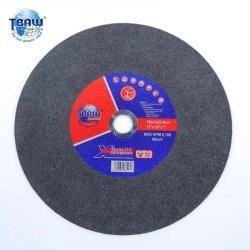 Fabrik-Großverkauf 300mm 12inch schnitt Abdeckstreifen-Platten-Metallpoliermittel-reibendes Ausschnitt-Polierrad ab