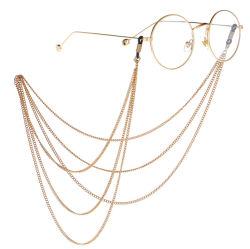 Fashion Jewelry Accessoires glazen Decoratie ketting en mode Face Maskers Ketting met meerdere lagen